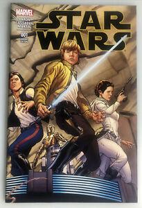 STAR WARS #1 BY QUESADA 1:100 COLOR WRAPAROUND MARVEL VARIANT ED