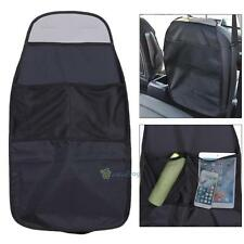 CAR AUTO CARE SEAT BACK PROTECTOR COVER FOR CHILDREN KICK MAT MUD CLEAN BLACK
