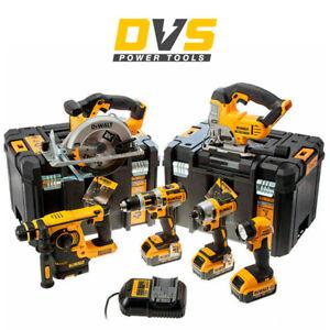 DeWalt DCK699M3T XR 6 Piece Kit 18v 3 x 4.0Ah DCD795N DCF886N DCH253N DCS331N