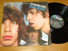 """1975 ROLLING STONES LP - ROLLING STONES 79104 - """"BLACK AND BLUE"""""""