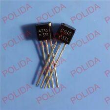 50pairs OR 100PCS Transistor TO-92 2SA733-P/2SC945-P 2SA733/2SC945 A733-P/C945-P