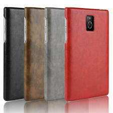 For Blackberry Passport Q30 Classic Retro PU Leather Coated hard case cover
