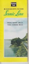 Burlington Route Mississippi Scenic Line Brochure