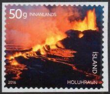 Iceland Sc. 1402 Volcano Eruption 2016 Mnh booklet single