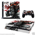 PS4 Playstation 4 Killzone Console Skin Decal Sticker - 3M ULTRA HIGH QUALITY