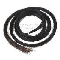Hank Violin Viola Bow Hair Mongolian Horse Tail 32Inch Black