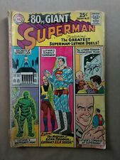 80 Page Giant Superman Super Man Comic Book 1965 Dc National Comics