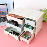 Plastic Table  Box Cosmetic Makeup Drawer Desktop Case Sundries Organize