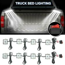 8Pcs Super White LED Truck Bed Lighting Light Kit For Chevy GMC Dodge Pickup