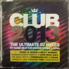 Club 2013 Ultimate DJ Mixes by Various Artists (CD, Jan-2013)