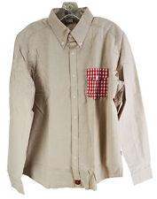 NWT iliac Golf Bert LaMar Beige Long Sleeve Shirt Sz. L