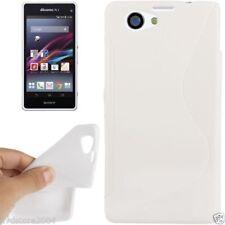 Custodie preformate/Copertine bianco Per Sony Xperia Z1 per cellulari e palmari