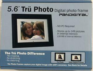 "PanDigital Digital Photo Frame - 5.6"" Tru Photo Pan56-2 LCD 4:3 w/ Remote 128MB"