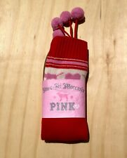 Victoria Secret Pink Women's (Rare) Knee High Mukluk Boots Size Medium (M) - New