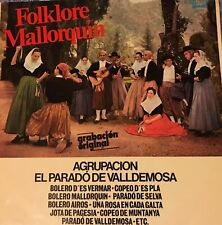 Folklore Mallorquin 2 Sided Vinyl from Olympo Stereo Mono from Argentina