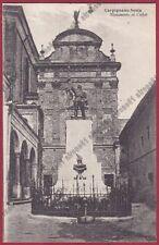 NOVARA CARPIGNANO SESIA 32 MONUMENTO ai CADUTI Cartolina