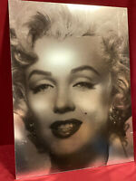 POP-ART BILD MARILYN MONROE CHROMATISCHES FOTO