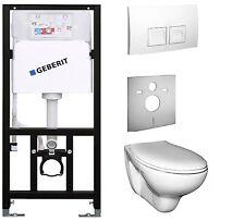 Vorwandelement mit Spülkasten Geberit mit Wand-WC  Ceravid . WC Set