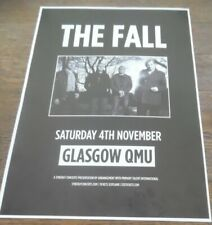 The Fall - live music show promotional tour concert gig poster