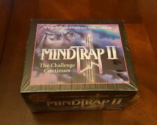 MindTrap II Board Game The Challenge Continues Test Your Thinking Pressman NEW
