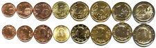 Belgium 8 coins set 1c-2e 2011-2013 UNC (#1744)