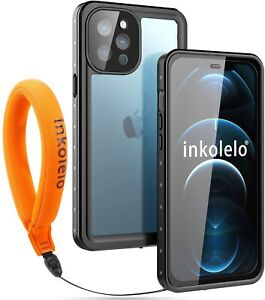 iPhone 12 Pro max Waterproof Case Cover , inkolelo Built-in Screen Full-Body