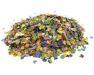 Papierkonfetti Multicolore Mélangé 100gr Mariage Fête Carnaval Engagement
