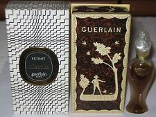 Vintage Guerlain Mitsouko Perfume Bottle/Box Rosebud/Amphora 1/2 OZ Sealed, 1967