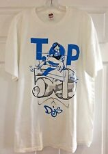 Mens XL T-Shirt with Top 50 Djs Logo on front and Nintendo DS logo on back