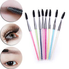 1Pc Beads Griff Makeup Wimpern Bürste Spirale Nadeln Mascara Applikator