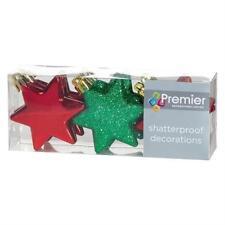 Decorazioni rosso Premier per albero di Natale