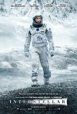 Interstellar 2014 Movie Poster Print A0-A1-A2-A3-A4-A5-A6-MAXI - CL86