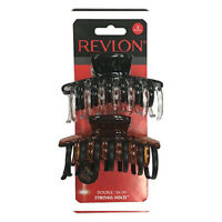 Revlon Strong Hold Hair Claw Clips, 2 Count 2