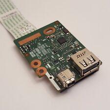HP ProBook 6550b USB FIREWIRE CARD READER BOARD CON CAVO 6050a2331801