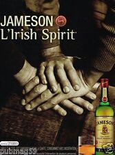 Publicité advertising 2007 Irish Whisky Jameson
