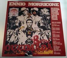 LP Ennio Morricone Queimada Burn ! Coloured Vinyl  Soundtrack Ost Limited Nuovo