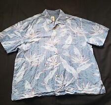 Men's Hawaiian Aloha Shirt by Jamaica Jaxx 2XL SILK