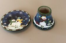Yankee Candle Small Christmas Shade And Plate