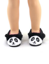 """Panda Slippers Fits Wellie Wishers 14.5"""" American Girl Clothes Shoes"""