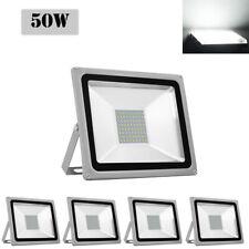 5X 50W Cool White LED Flood Light Outdoor Garden Lamp Lighting Floodlight 110V