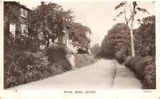 GATLEY, STOCKPORT, ENGLAND, STYAL ROAD, HOMES, REAL PHOTO PC used 1913