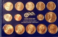 2008 US Mint 28-Coin, Sealed Annual Uncirculated Dollar Coin Set from P, D Mints
