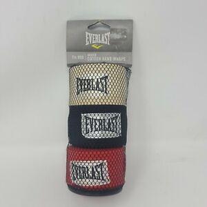 Everlast 4455-3 Professional Boxing Hand Wraps - Novice Cotton Hand Wraps Tn:108