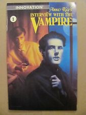 Interview with a Vampire #1 #2 #3 Innovation Comics 1991 Series 9.4 Near Mint