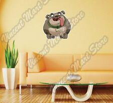 "Funny Fat Dog Friend Pet Cartoon Gift Wall Sticker Room Interior Decor 22""X22"""