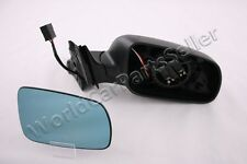 Blue Convex Black Electric Right Wing Side Mirror Fits AUDI A4 B5 1994-2001