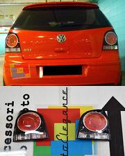 VW POLO 9N3 2005-2009 FARI POSTERIORI - FANALI NERI LOOK GTI