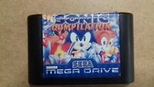 SONIC THE HEDGEHOG COMPILATION SEGA MEGADRIVE REGNO UNITO PAL Carrello Solo