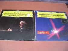 2 Bach Magnificat-Symphony Psalms/French Suite 5 English Suite 3 LP Records NM