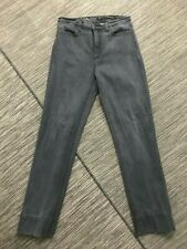 NYDJ Tummy Tuck Jeans Women's Sz 12 Slim Straight Denim Jeans Gray